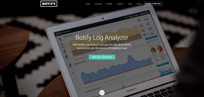 Botify log analyzer