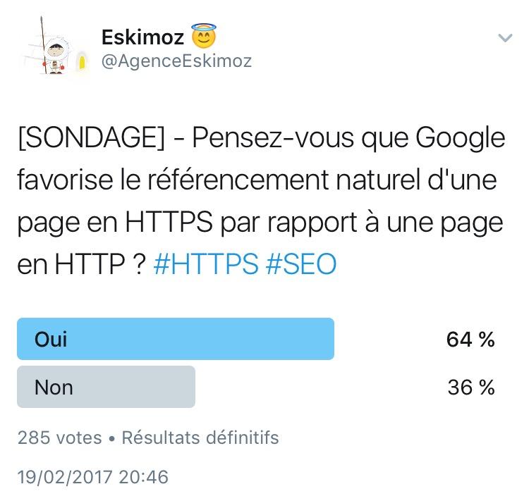 Quel est l impact du HTTPS sur le referencement naturel SEO d une page ?